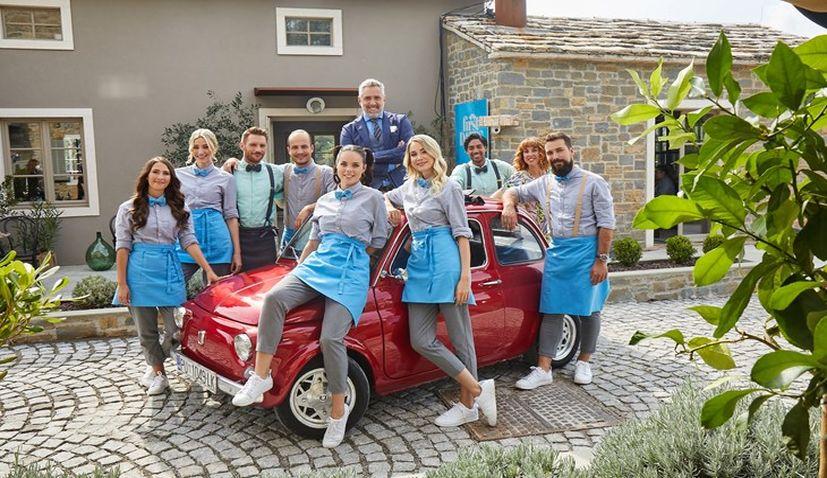 Warner Bros. shoot 'First Dates Hotel' in Istria