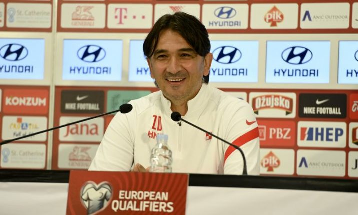 Dalić reveals tactics ahead of Croatia's World Cup qualifier against Cyprus