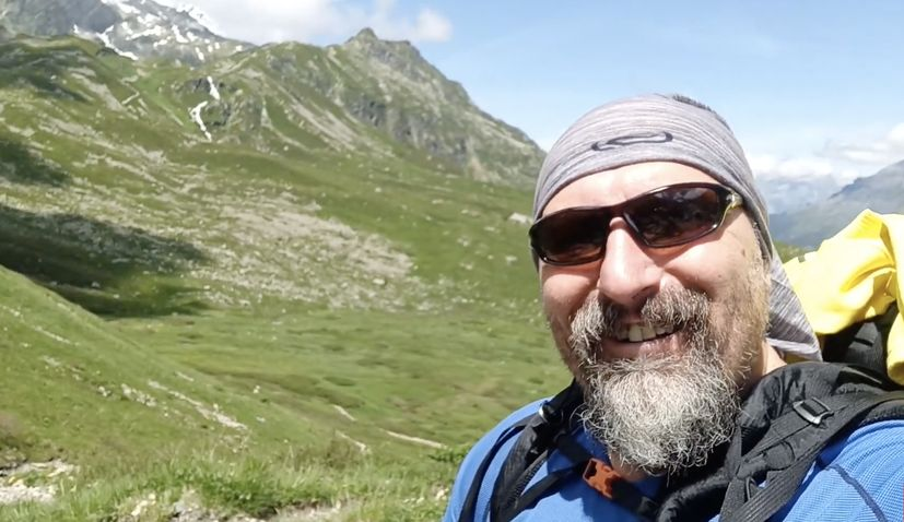 Croatian hiker Alen Kozić sets off on Monday, 15 March, on the Croatian Long Distance Trail,