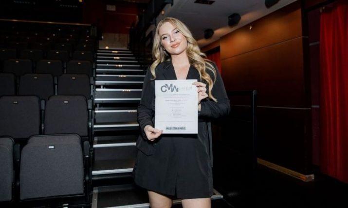 Canadian-Croatian singer wins Independent Canadian Music Video Award