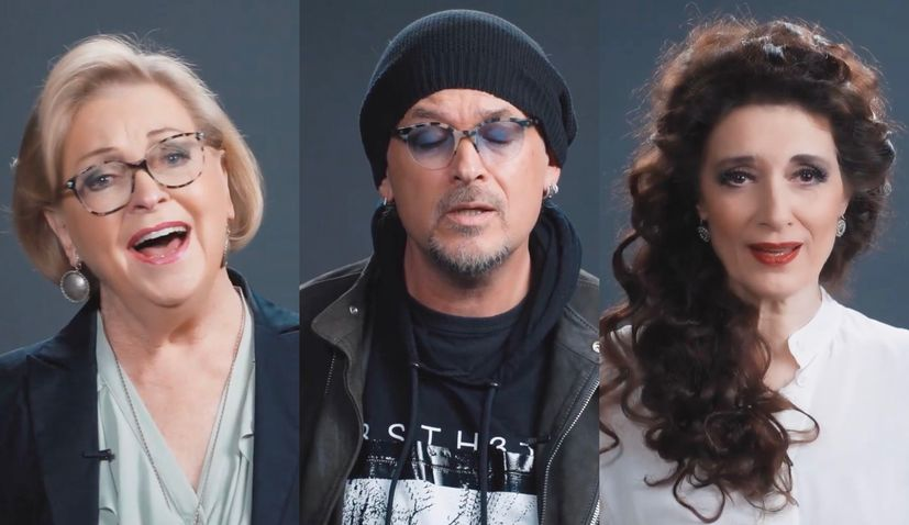 VIDEO: Famous Croatian musicians join for music video