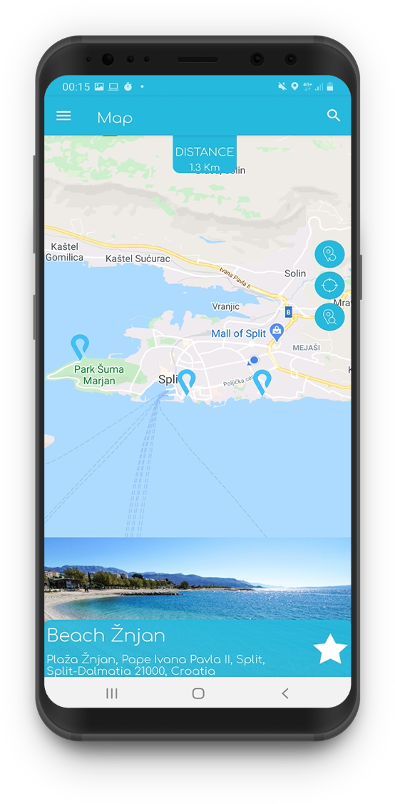 Croatian beach finder app Plaja released