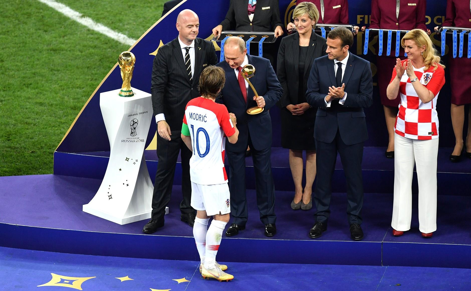 Luka Modrić debut for Croatia