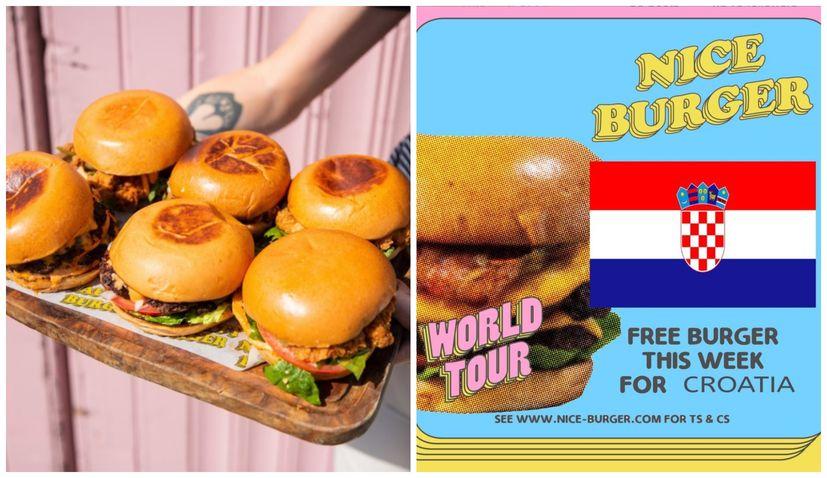 Irish burger chain giving Croatians free burgers this week