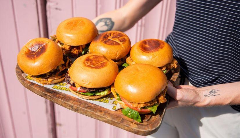 nice burger croats in Ireland
