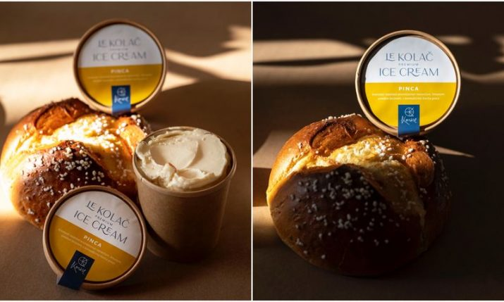 First pinca flavoured ice cream created