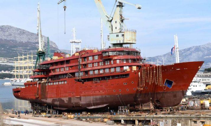 Croatia's Brodosplit launch new €50 million polar expedition passenger ship