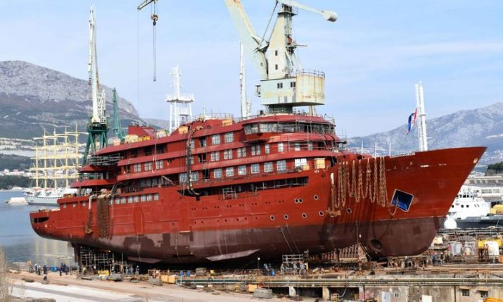 Croatia's Brodosplit launch new €50 million polar expedition passenger ship
