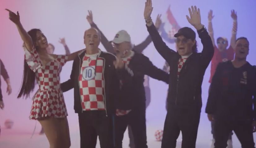 New supporters' song 'Srce Hrvatsko' premieres ahead of Euro