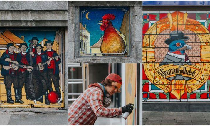 Croatia's top street artists brighten up Zagreb