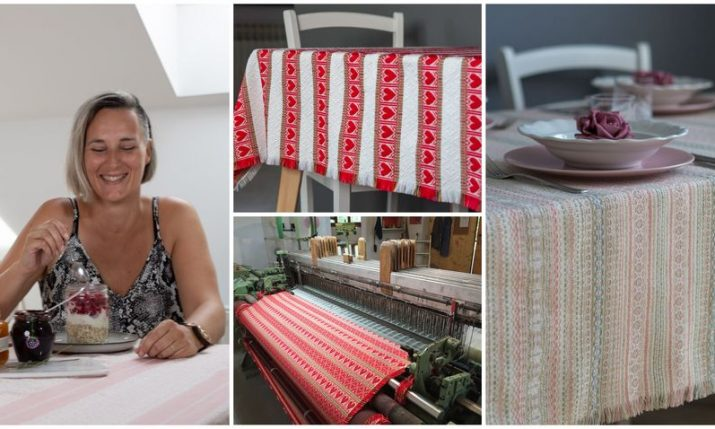 Meet Ivana: Guardian of traditional Croatian fabrics