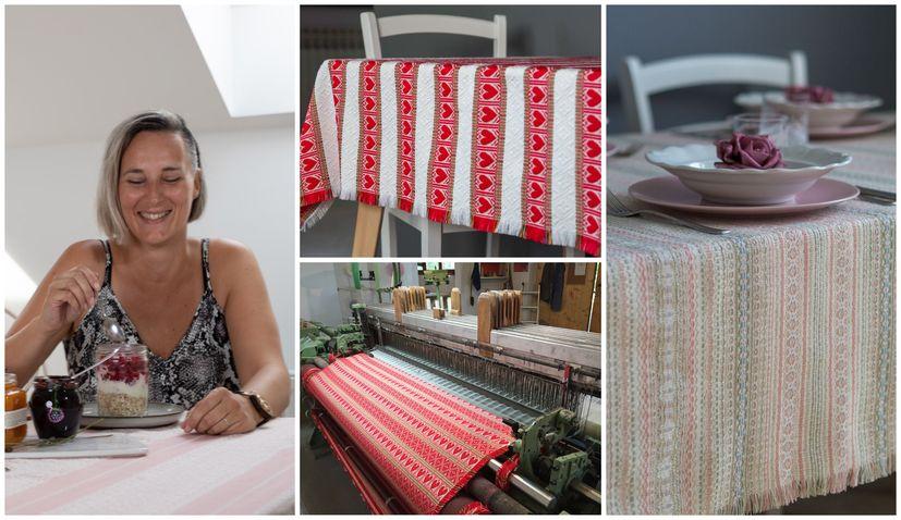 Meet Ivana: Guardian of traditional Croatian fabrics