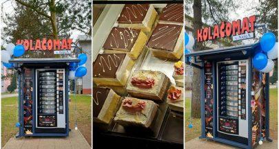 First cake vending machine in Croatia opens in Varaždin