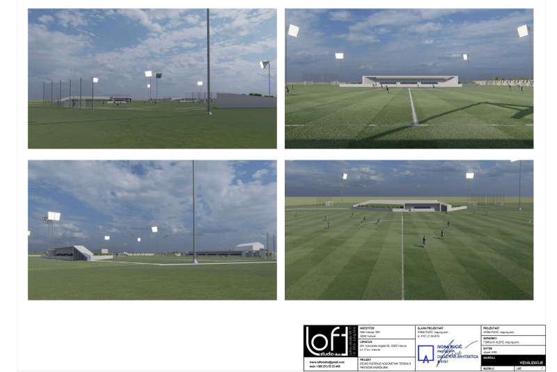 Football camp being built in Vukovar