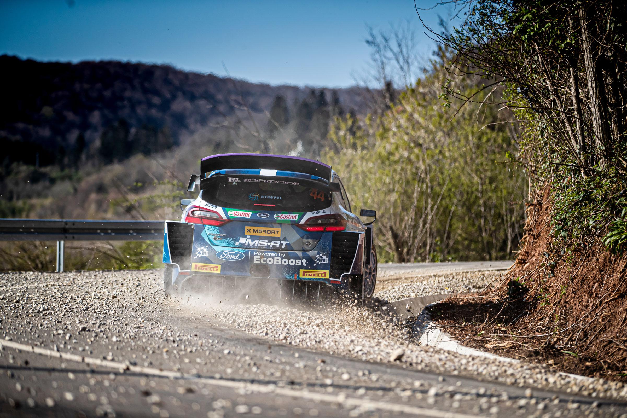 WRC Croatia Rally Day One