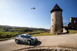 (WRC Croatia Rally Day Two