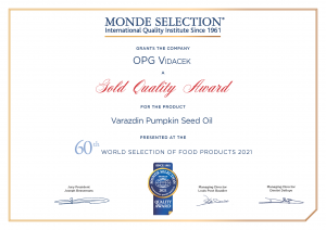 Varaždin pumpkin seed oil declared world's best at prestigious competition
