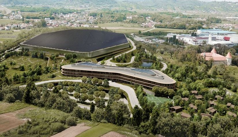 Rimac unveils €200 million state-of-the-art Zagreb campus design