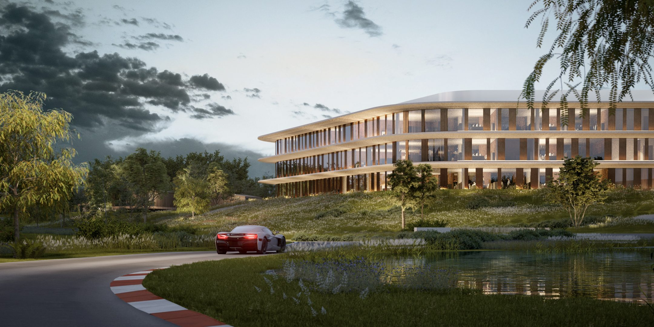 Rimac presents €200 million state-of-the-art Zagreb campus design