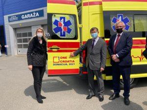 ONE CROATIA Delivers Help to Banovina