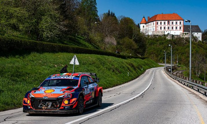 WRC Croatia Rally: Exciting finish as 10.4s separate fastest three crews after day two
