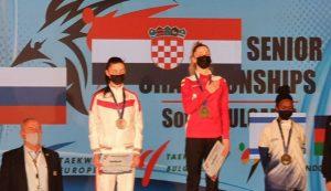 Croatia's Lena Stojković becomes European taekwondo Champion