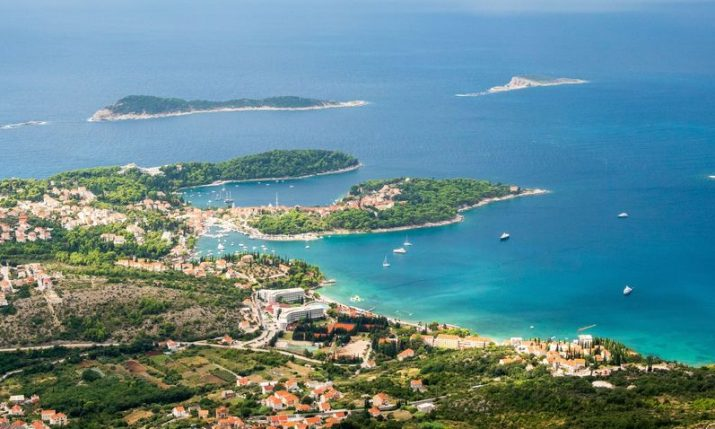 Which countries have the most islands? Croatia makes the list