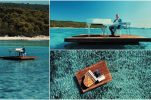 VIDEO: Croatian pianist plays floating in stunning Sakarun bay