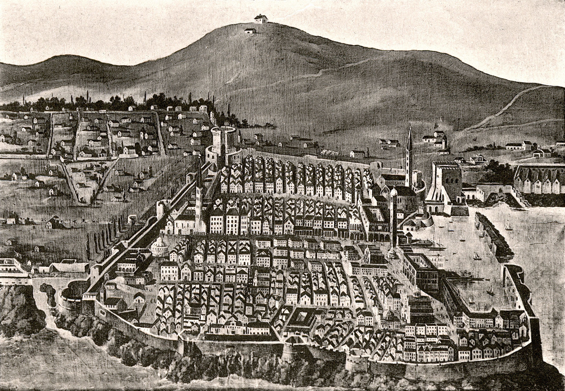 Dubrovnik in 1667 earthquake
