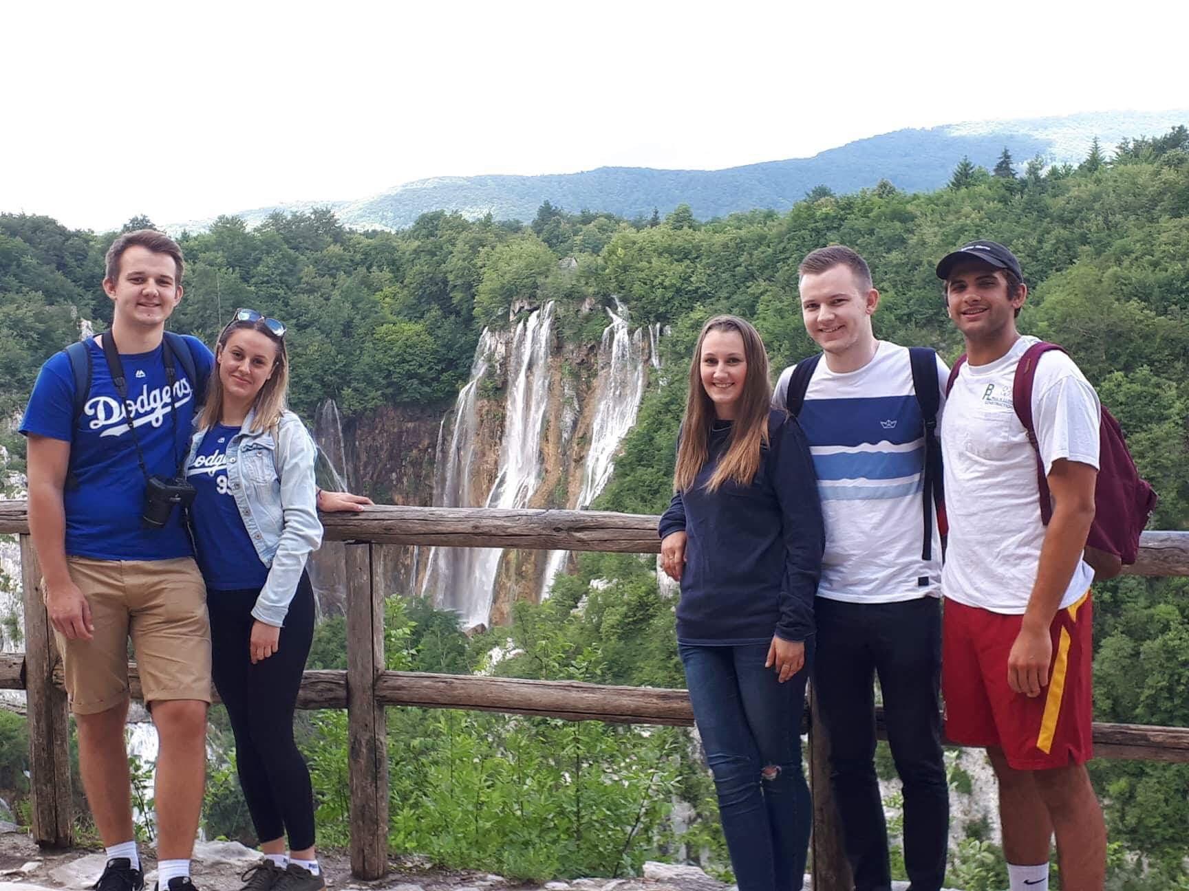 LA to Zagreb friends geroge and stanko move