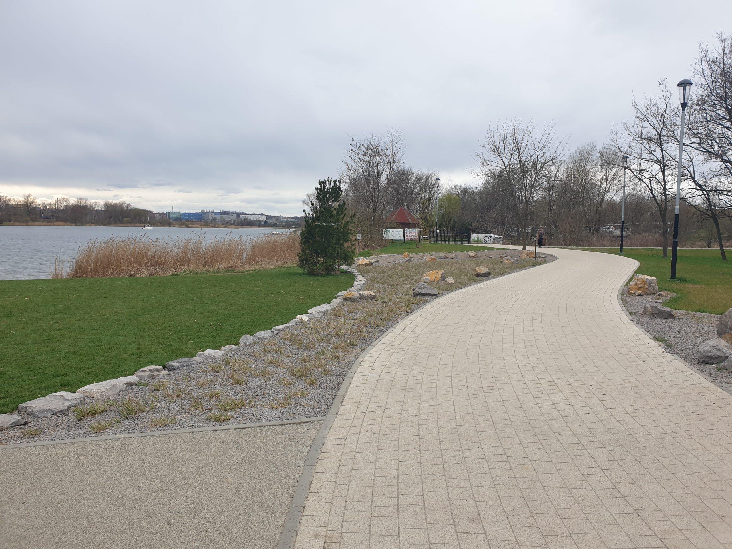 """""""Little Croatia"""" park area created in Krakow, Poland"""