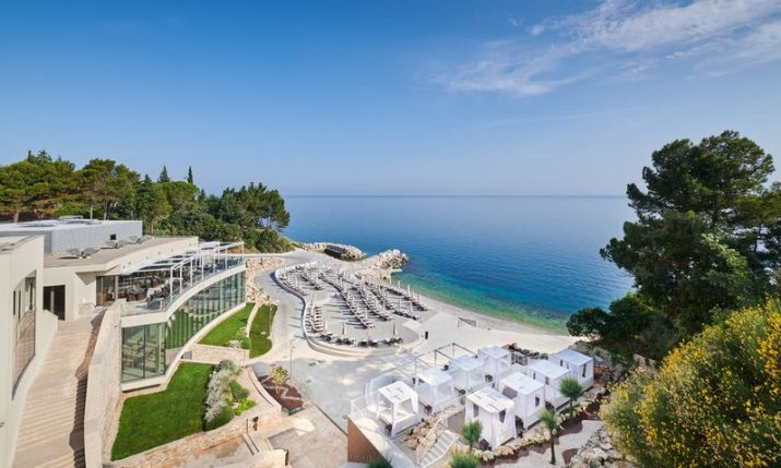 Kempinski Hotel Adriatic reopens and presents private luxury villas and changes in the leadership team