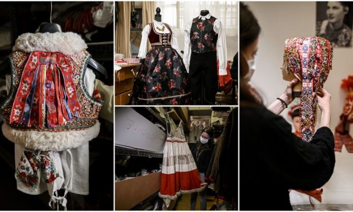 Traditional Croatian folk costumes: LADO's breathtaking collection