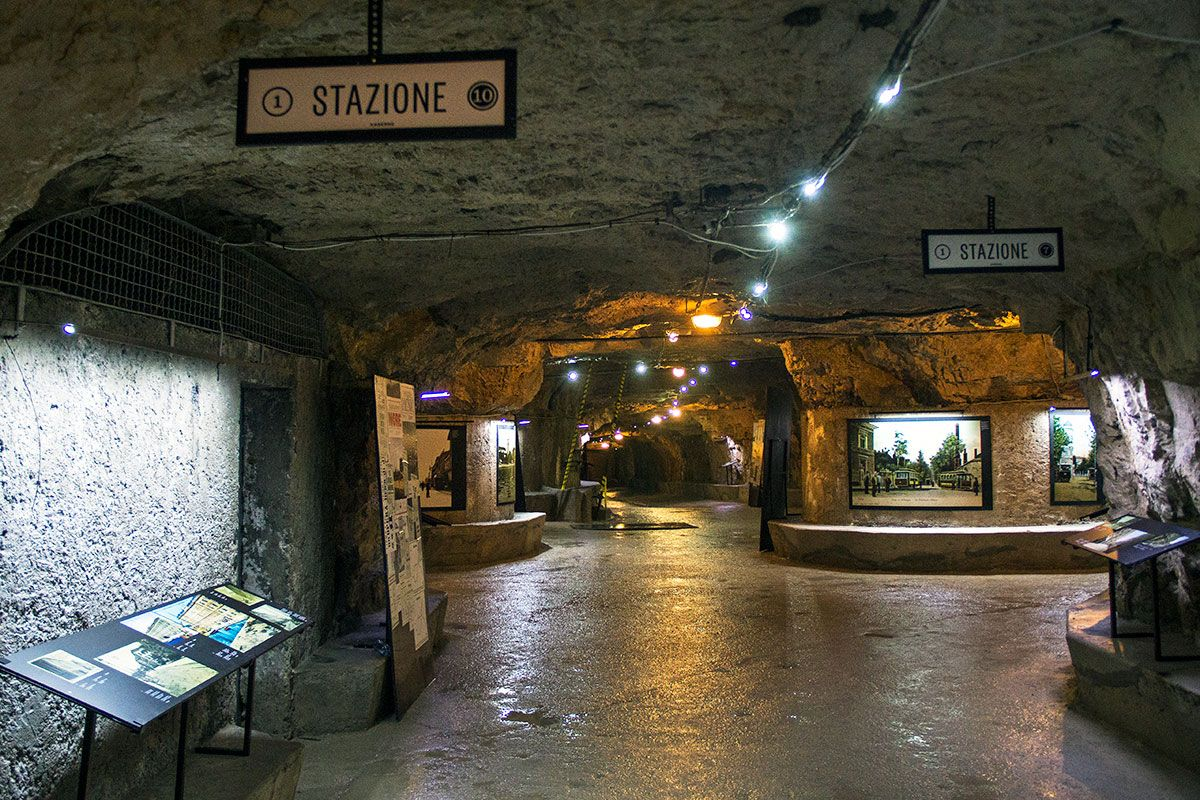 Underground Tunnels in Croatia