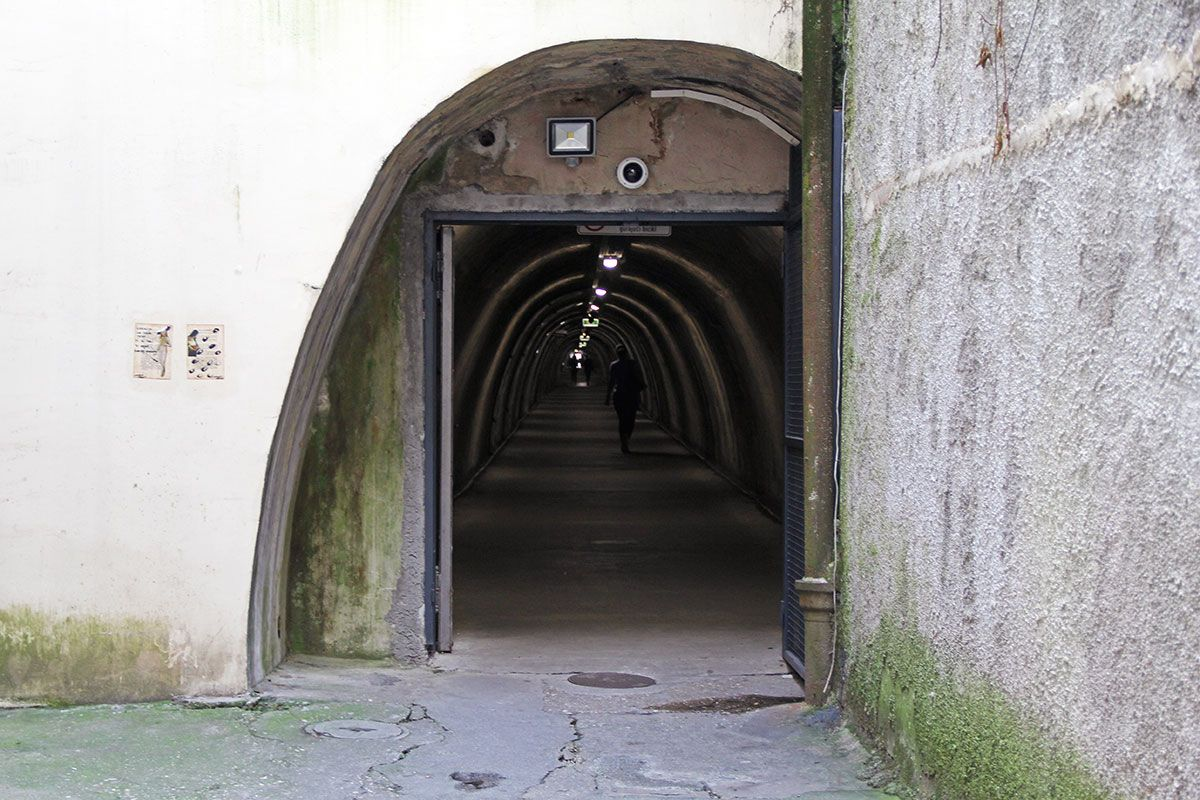 Underground Tunnels in Croatia- Zagreb and Pula-8