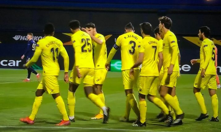 UEFA Europa League: Villarreal edge Dinamo in quarter-final first leg