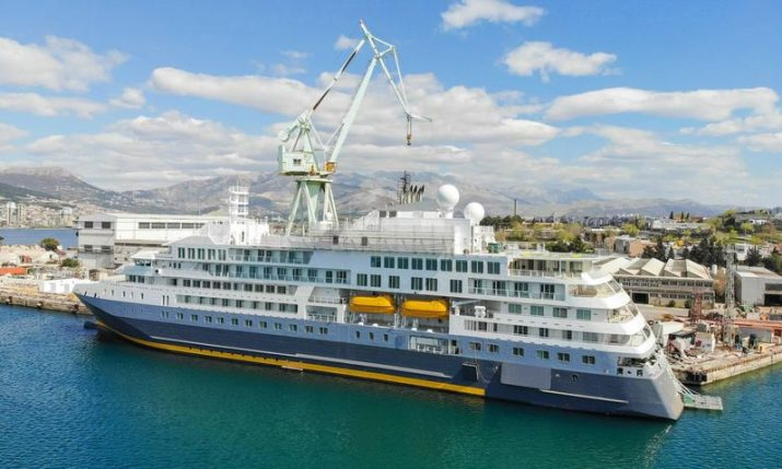 Croatian shipyard Brodosplit hands over €100 million-plus polar cruiser