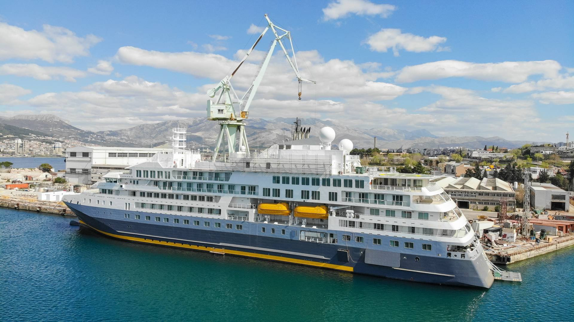 Croatian shipyard Brodosplit hands over €100 million polar cruiser