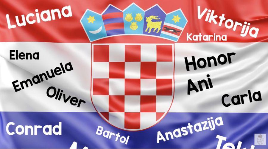 croatian kids uk easter national anthem
