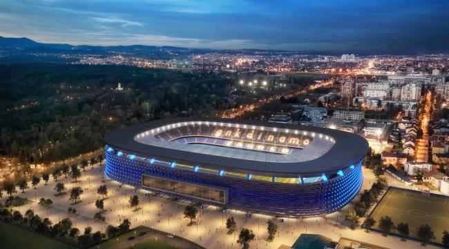 Dinamo Zagreb present new stadium