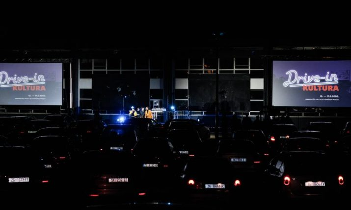Drive-in cinema and concerts coming to Croatian cities