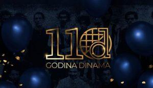 dinamo zagreb celebrates 110 birthday