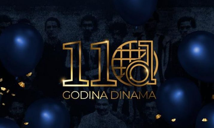 Dinamo Zagreb celebrates 110th birthday today
