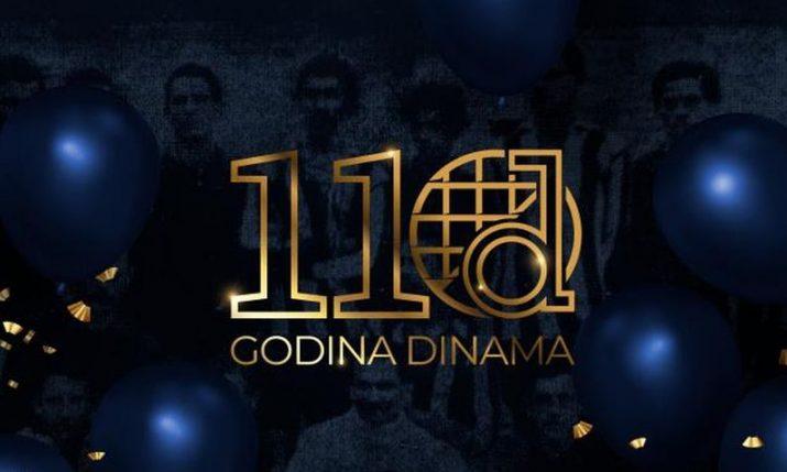 Dinamo Zagreb celebrates 110th birthday today