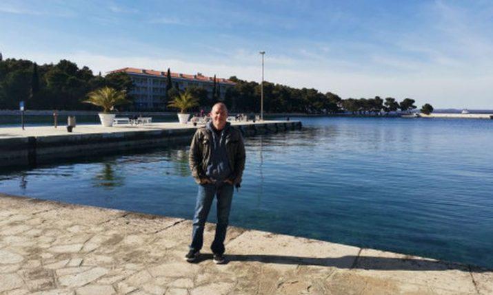 Former Formula One champ enjoys Croatian Easter break