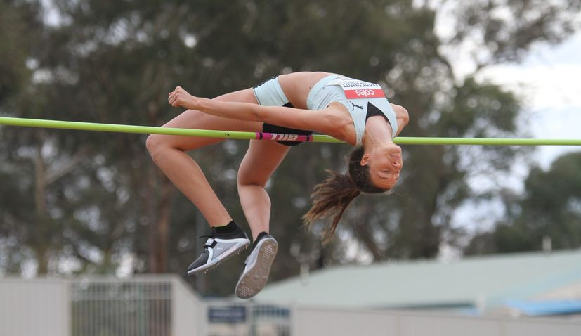 Australian-Croatian high jumper becomes first woman in Australia to clear 2 metres