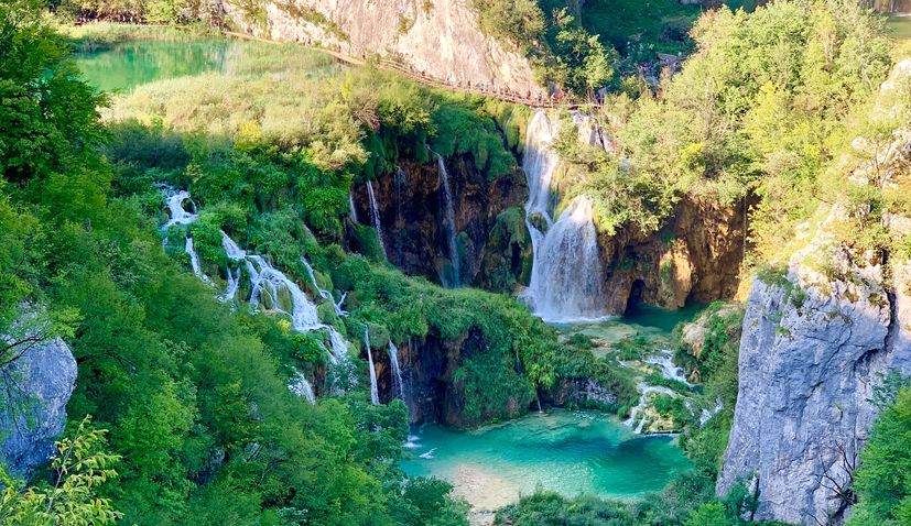 Croatia's stunning Plitvice Lakes National Park celebrates 72nd anniversary