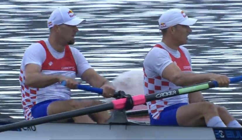Croatia's Sinković brothers win gold at European Rowing Championships