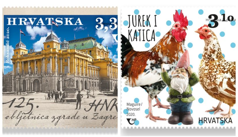 Most beautiful Croatian postage stamps of the year announced
