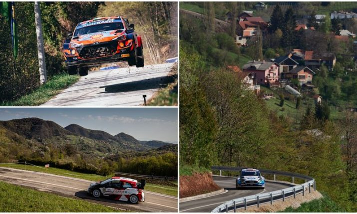 WRC Croatia Rally: All the action from day one